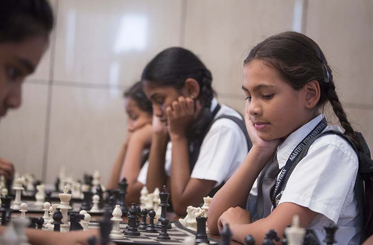 agasthya_vidyanikethan_Chess_Practice